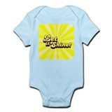 Let it Shine Christian Onesie