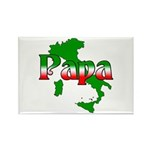 Italian Papa Rectangle Magnet (10 pack)