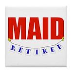 Retired Maid Tile Coaster