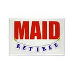 Retired Maid Rectangle Magnet (10 pack)