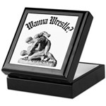 Wanna Wrestle Keepsake Box