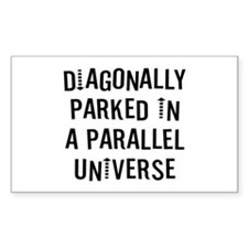 Diagonally Parked Decal