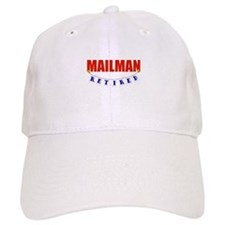 Retired Mailman Baseball Cap