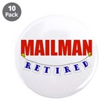 "Retired Mailman 3.5"" Button (10 pack)"