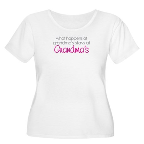 what happens at grandma's Women's Plus Size Scoop