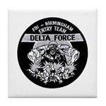 FBI Entry Team Tile Coaster