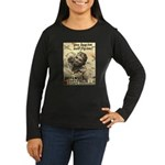 Savings Bonds & Stamps Women's Long Sleeve Dark T-