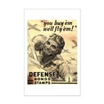 Savings Bonds & Stamps Mini Poster Print
