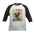 Savings Bonds & Stamps Kids Baseball Jersey