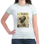 Savings Bonds & Stamps Jr. Ringer T-Shirt