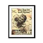 Savings Bonds & Stamps Framed Panel Print