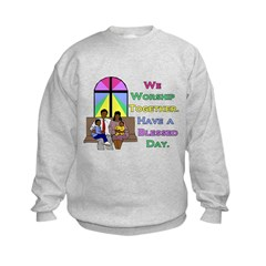 Worship Together AA Kids Sweatshirt
