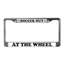 Soccer Nut License Plate Frame