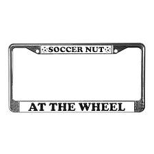 Soccer Nut License Plate Frame