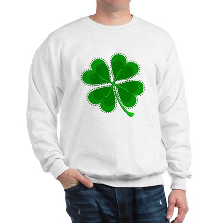 Lucky Four Leaf Clover Sweatshirt