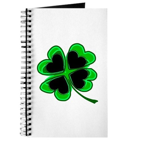 Lucky Four Leaf Clover Journal