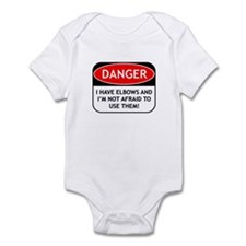 Use Elbows Infant Bodysuit