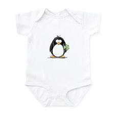Shamrock Penguin Infant Bodysuit