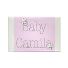 Cute Camila Rectangle Magnet (100 pack)