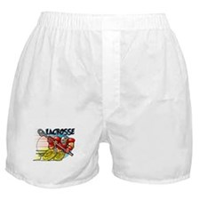 Lacrosse on Wheels Boxer Shorts