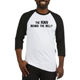 Man behind belly Baseball Jersey