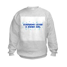 Jewish Girl Sweatshirt