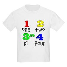 Numbers for Smart Babies Kids Light T-Shirt