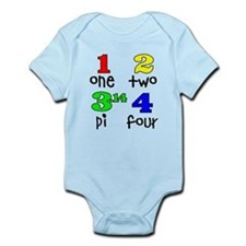 Numbers for Smart Babies Infant Bodysuit