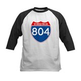Area Code 804 Tee