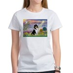 Cloud Angel / Collie Women's T-Shirt