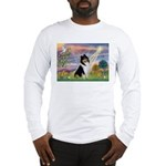 Cloud Angel / Collie Long Sleeve T-Shirt