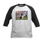 Cloud Angel / Collie Kids Baseball Jersey