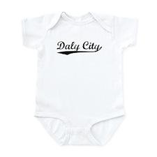 Vintage Daly City (Black) Infant Bodysuit
