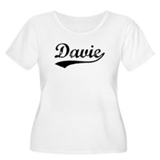 Vintage Davie (Black) T-Shirt