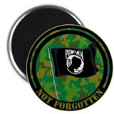 "POW-MIA NOT FORGOTTEN 2.25"" Magnet (10 pack)"