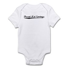 Vintage Desert Hot.. (Black) Infant Bodysuit