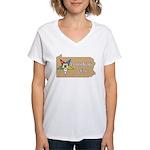 Pennsylvania OES Women's V-Neck T-Shirt