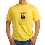Texas Jack Vermillion Yellow T-Shirt