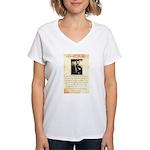 Texas Jack Vermillion Women's V-Neck T-Shirt