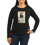 Texas Jack Vermillion Women's Long Sleeve Dark T-S