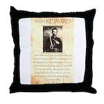 Texas Jack Vermillion Throw Pillow