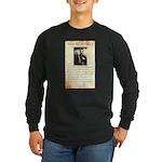 Texas Jack Vermillion Long Sleeve Dark T-Shirt