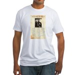 Texas Jack Vermillion Fitted T-Shirt