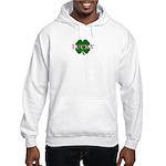LUCKY CLOVER Hooded Sweatshirt