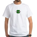 LUCKY CLOVER White T-Shirt