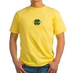 LUCKY CLOVER Yellow T-Shirt