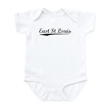 Vintage East St Lo.. (Black) Infant Bodysuit