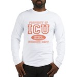 Property Of ICU Nursing Dept Nurse Long Sleeve T-S