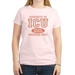 Property Of ICU Nursing Dept Nurse Pink T shirt