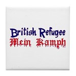 British Refugee Tile Coaster